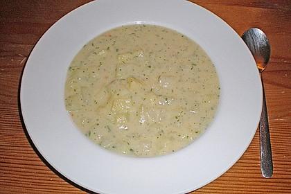 Kohlrabi - Petersilien - Suppe 5