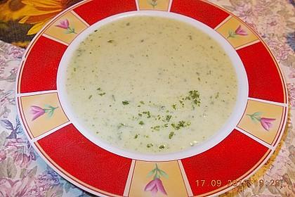 Kohlrabi - Petersilien - Suppe 7