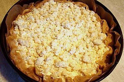 Apfel - Käse - Kokosstreuselkuchen 2