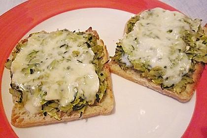 Zucchini - Toast