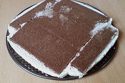 Milchschnitten - Kirsch - Torte 5