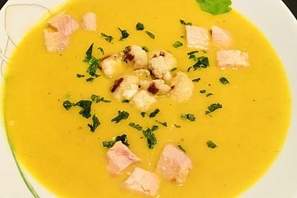 Blumenkohl - Curry Suppe (Bild)