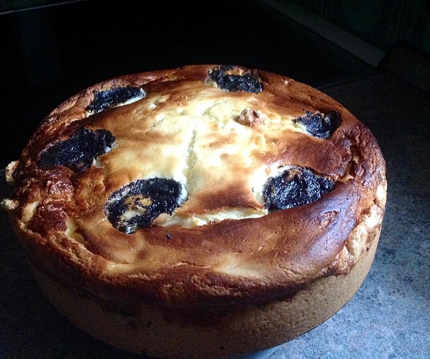 Topfen Quark Mohn Kuchen Mit Birnen Von Christine R Chefkoch De
