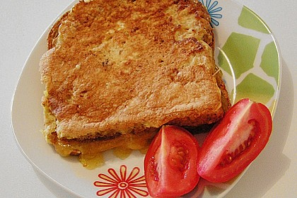 Gebackene Käsesandwiches 3