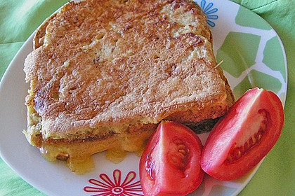 Gebackene Käsesandwiches 7