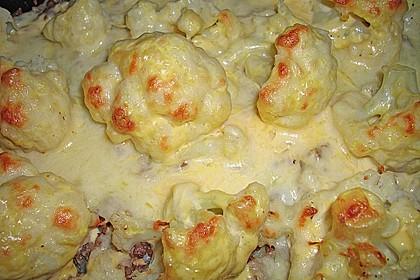 Kartoffel - Blumenkohl - Hackfleisch - Gratin 1