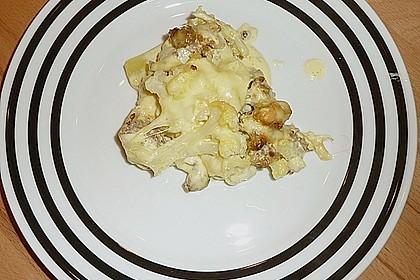 Kartoffel - Blumenkohl - Hackfleisch - Gratin 11