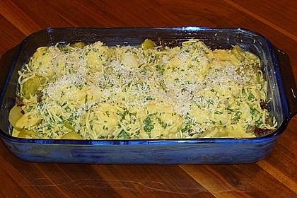 Kartoffel - Blumenkohl - Hackfleisch - Gratin 6