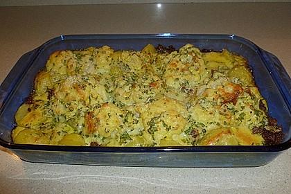 Kartoffel - Blumenkohl - Hackfleisch - Gratin 2