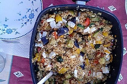 Bulgur - Gemüse - Pfanne (Bild)