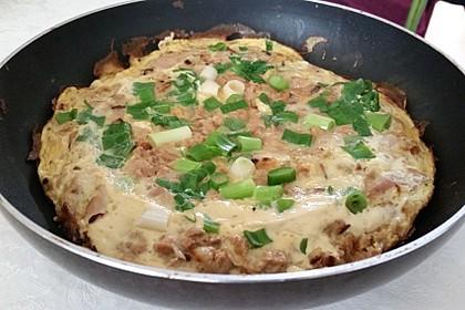 Thunfisch - Omelette 9