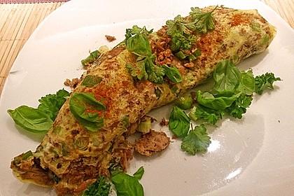 Thunfisch - Omelette 4