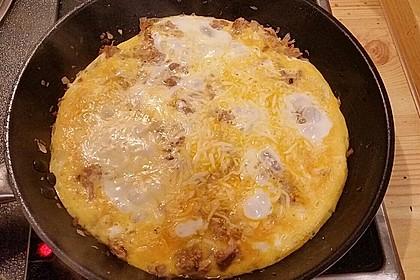 Thunfisch - Omelette 15