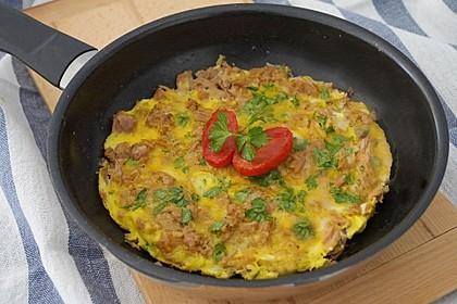 Thunfisch - Omelette 3