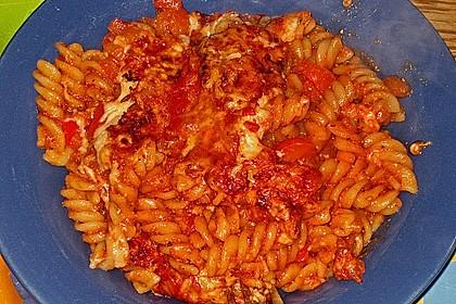 Nudel - Tomaten - Auflauf (Bild)
