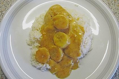 Hähnchencurry mit Bananen 3