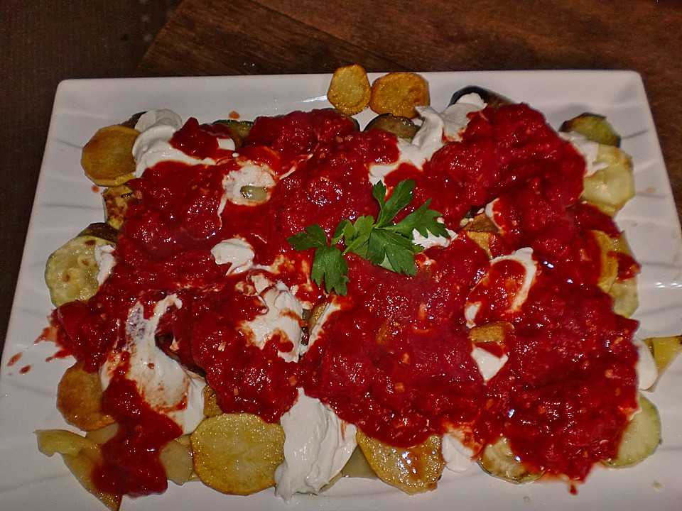 Leichte Sommerküche Claudia Seifert : Mediterranes gebackenes gemüse mit joghurt tomatensauce von demma