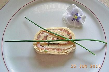 Lachs - Pfannkuchen
