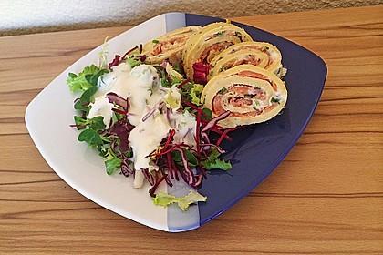 Lachs - Pfannkuchen 1