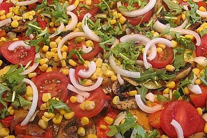Gemüsepizza 1