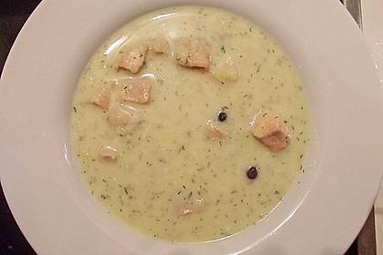 Finnische Lachssuppe 5