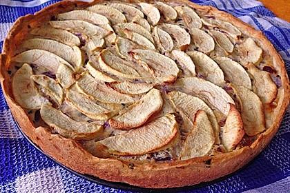 Apfel - Zwiebelkuchen ala Kräuterjule (Bild)