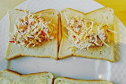 Thunfischbrote aus der Pfanne