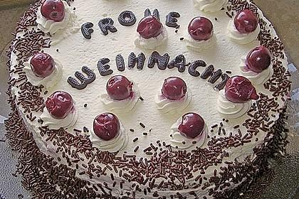 Schwarzwälder - Kirsch - Torte 80