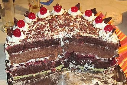 Schwarzwälder - Kirsch - Torte 134