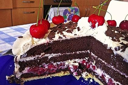 Schwarzwälder - Kirsch - Torte 90