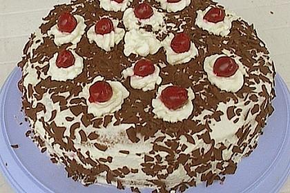 Schwarzwälder - Kirsch - Torte 132