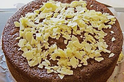 Dattelkuchen mit Kakao 2
