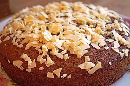 Dattelkuchen mit Kakao 1