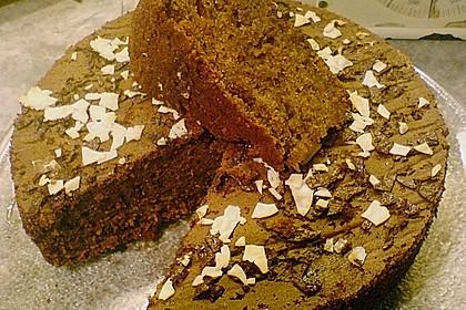 Dattelkuchen mit Kakao 3