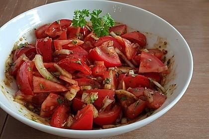 Petersilien - Tomaten - Salat auf Taboulé - Art 1
