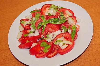 Petersilien - Tomaten - Salat auf Taboulé - Art 6