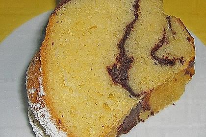 Quark - Bananen - Marmor - Gugelhupf 9