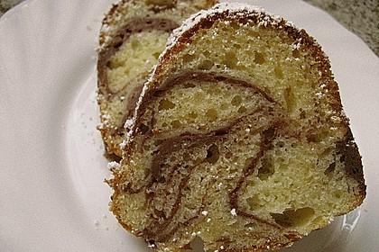 Quark - Bananen - Marmor - Gugelhupf 5