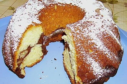 Quark - Bananen - Marmor - Gugelhupf 1