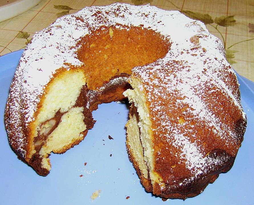Quark Bananen Marmor Gugelhupf Chefkoch De