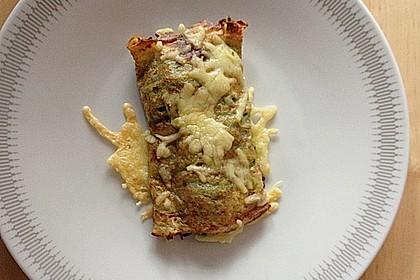 Kartoffel - Spinat - Röllchen 10