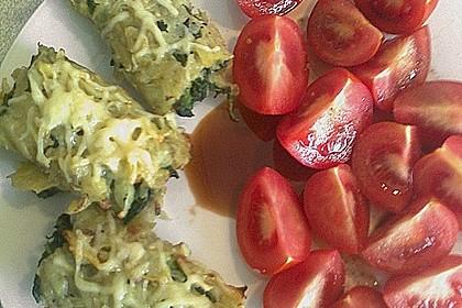 Kartoffel - Spinat - Röllchen 7