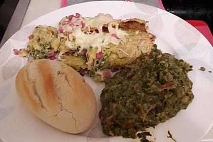 Kartoffel - Spinat - Röllchen 12