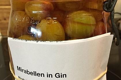 Mirabellen in Gin 4