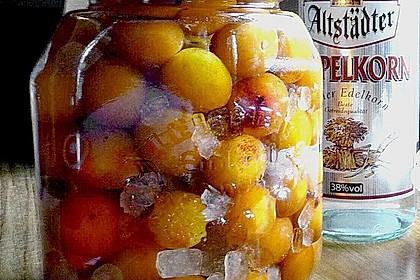 Mirabellen in Gin (Bild)