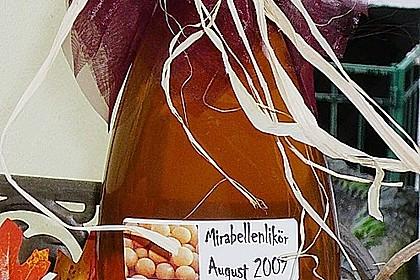 Mirabellen in Gin 16