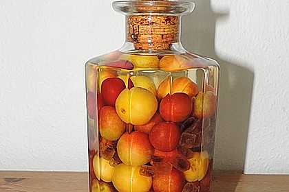 Mirabellen in Gin 1