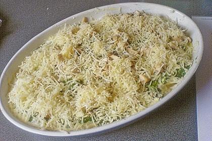 Brokkoli-Schafskäseauflauf 17