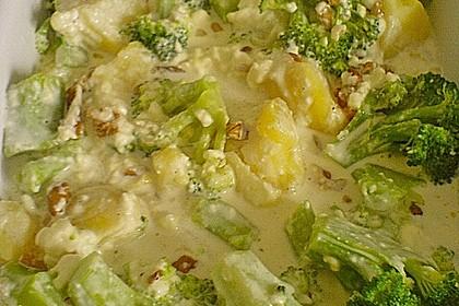Brokkoli-Schafskäseauflauf 12