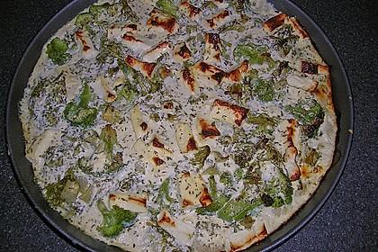 Brokkoli-Schafskäseauflauf 7